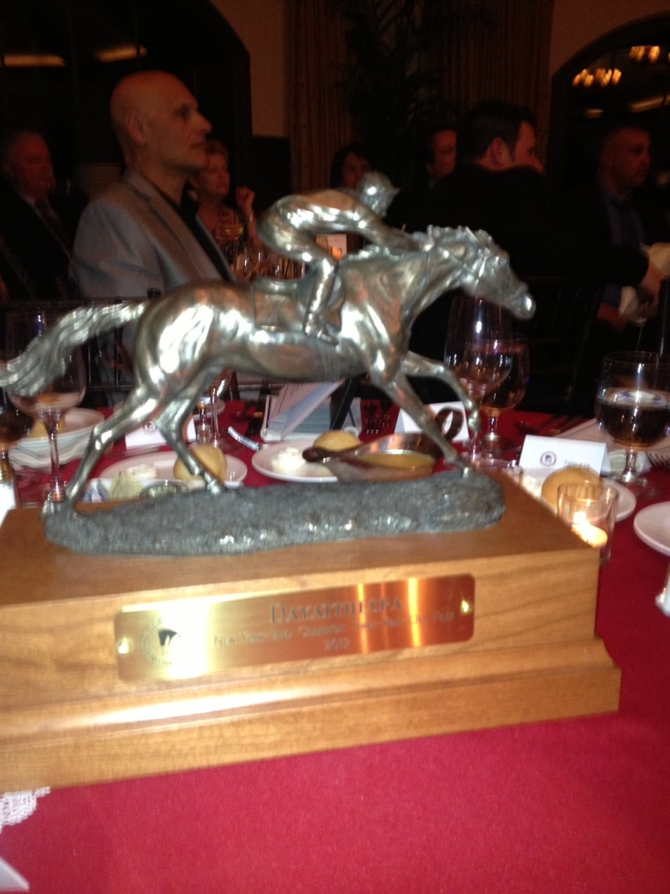 Dayatthespa's NY Bred 3YO Filly of the Year Award